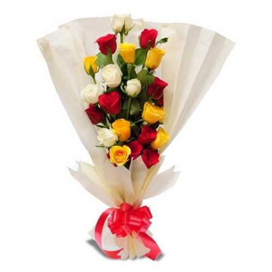 send flower Anand Niketan DelhiSleek and Stylish Bunch