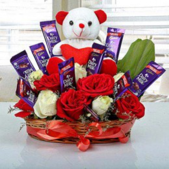 send flower Nanak Pura DelhiCelebration Arrangement