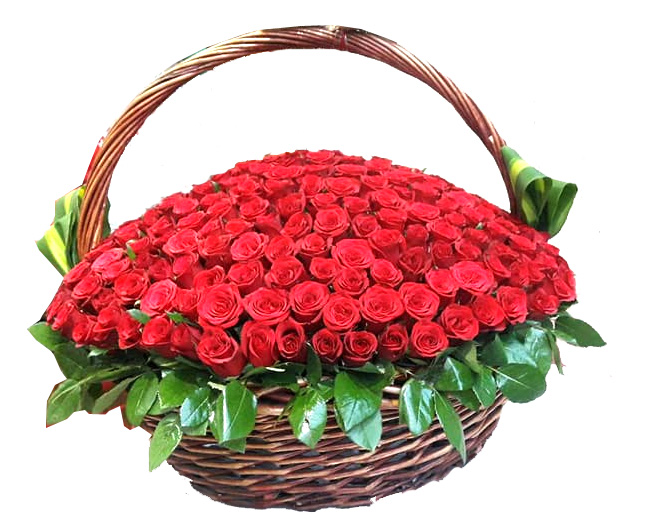 send flower Vasant viharRed Rose Arrangement