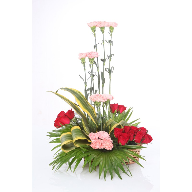 send flower Sadiq Nagar Delhi30 Mix Flower Arrangement