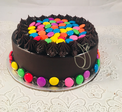 send flower Vasant viharGems Cake