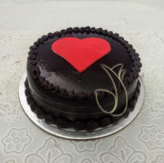 send flower Saket DelhiHeart Cake