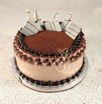 send flower Lodi Colony DelhiSoft Chocolate Truffle Cake