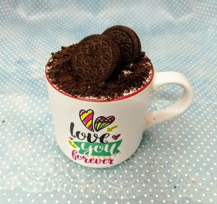 Oreo Coffee Mug Cake(Only For Delhi)