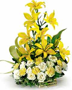send flower Nanak Pura DelhiPerfect Combination