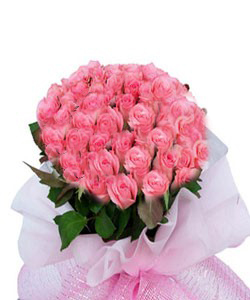 send flower Bhajan Pura DelhiGraceful Pink