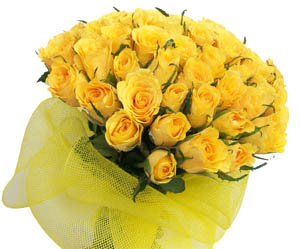 send flower Gadaipur DelhiThe Orphic Yellow