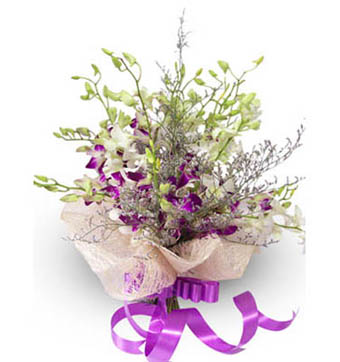 send flower Bhajan Pura DelhiExotic Orchids
