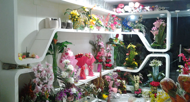 We invite you to visit our florist shop in Delhi. Please give some ...
