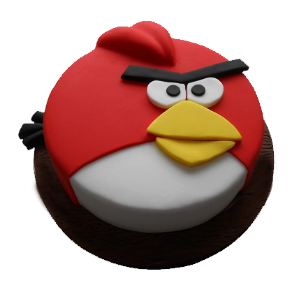 1kg Angry Bird Cake