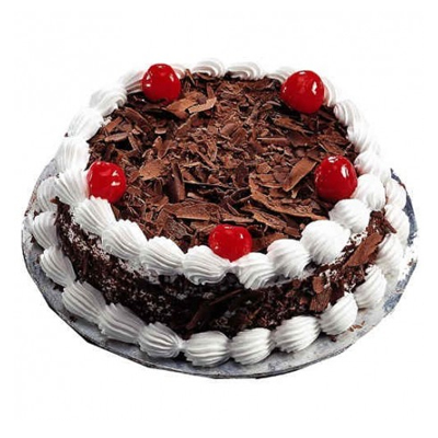 send flower Vasant viharBlack Forest Cake