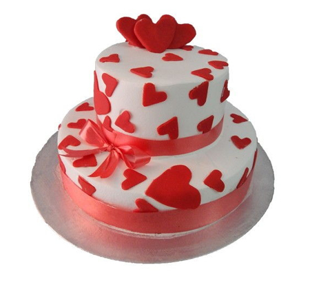 My Heart for you Cake